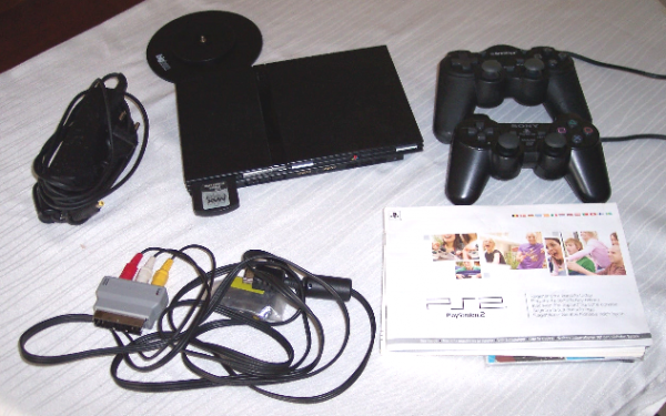 Playstation 2 Slim BIG-Bundle
